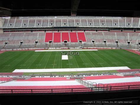 section 20b ohio stadium section 20b rateyourseats com