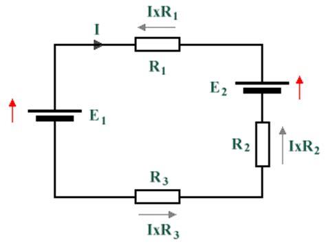 voltage drop thru resistor technologyuk physics electrical principles kirchhoff s laws
