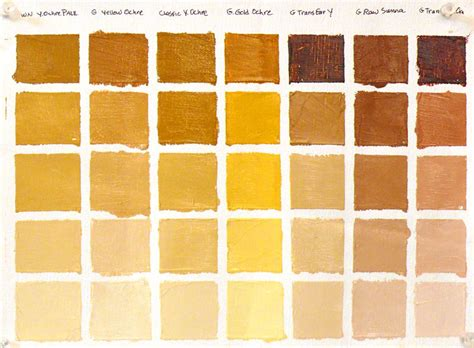 color ochre back to basics color vocabulary bouc artist