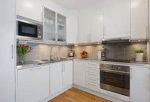kitchen white apartment