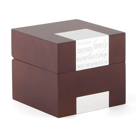 Wedding Note Box by Wooden Memory Note Box Confetti Co Uk