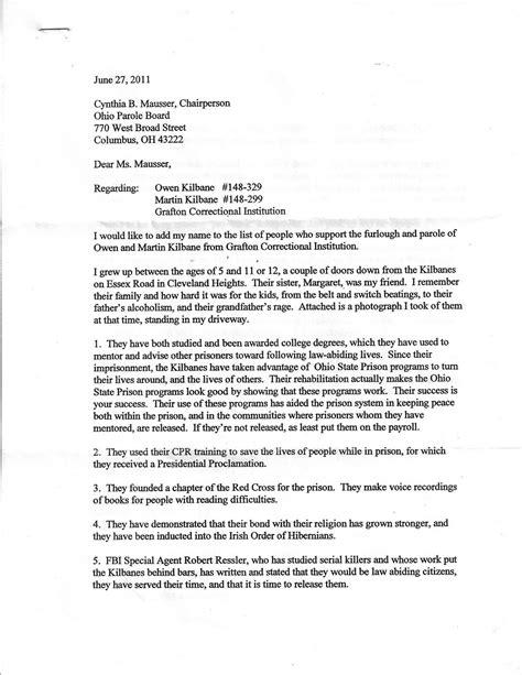 sle parole letter for the knownledge