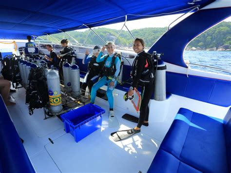 blue dolphin boat tours blue dolphin speedboat day trip diving similan islands