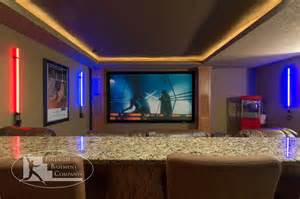 Houses With Finished Basements basement home theater traditional basement