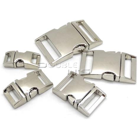 Metal Buckle For Paracord Bracelet 5pcs lot side release curved metal buckle for bag diy paracord buckles for bracelet in buckles