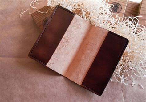 Handmade Leather Passport Cover - leather cover passport cover documents shop on