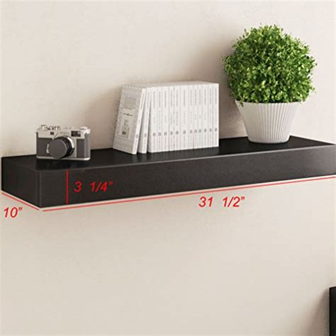 Wall Shelf Mounting Hardware Galleon Black Floating Wall Shelf With Drawer