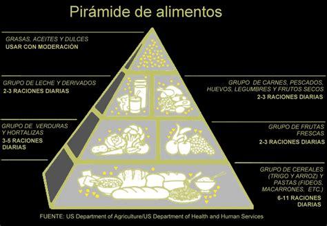 cadena alimenticia pirámide trofica la pir 225 mide nutricional la dieta alea recetas
