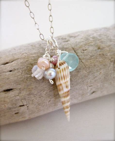 how to make seashell jewelry 17 best ideas about seashell necklace on shell