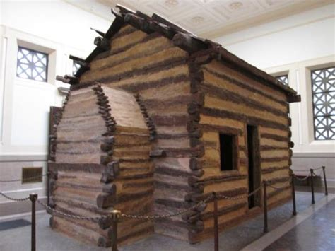 abraham lincoln cabin the cabin in the monument picture of abraham lincoln