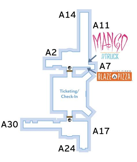 houston airport map food 1000 ideas about george bush intercontinental airport on