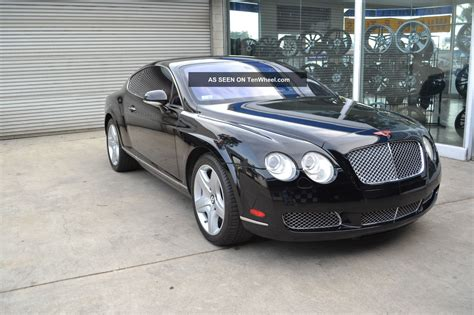 bentley 2005 interior 2005 bentley continental gt coupe 2 door 6 0l jet black