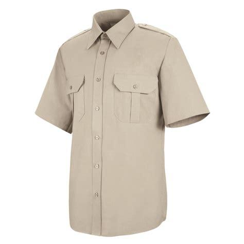 Kemeja Embroidery Ringgo White Kemeja Pria kap s basic sleeve security shirt sp66