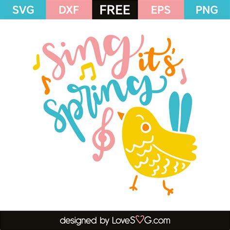 Sing It sing it s lovesvg