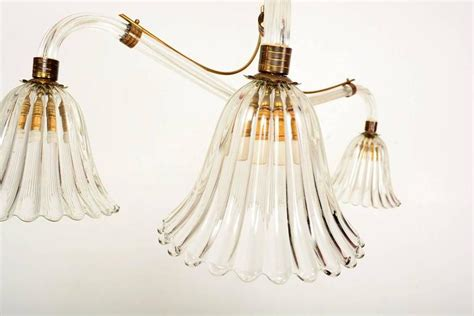 hanging chandelier l murano hanging chandelier for sale at 1stdibs