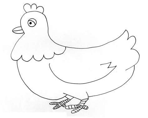imagenes para dibujar gallinas dibujos de gallinas para colorear y pintar