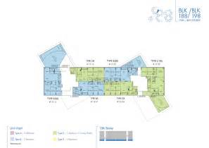 interlace floor plan blk 188 198 the interlace