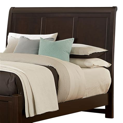 Bassett Furniture Headboards by Vaughan Bassett Bonanza Sleigh Headboard Dunk