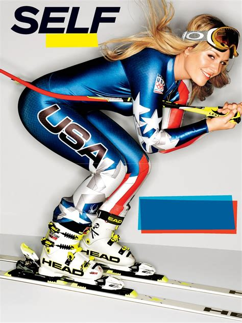 lindsey vonn self magazine february 2014 issue