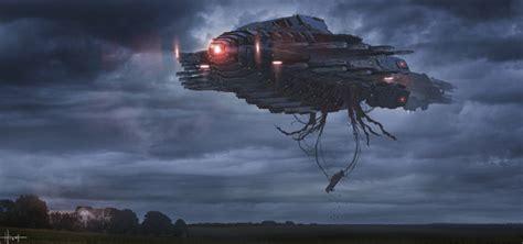 Cloverfield Invades by Flying 10 Cloverfield Species