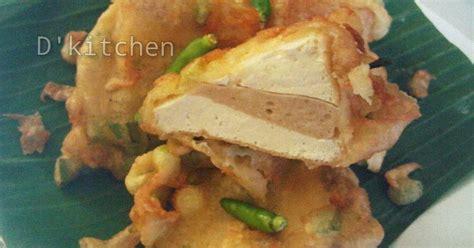 resep bakso tahu goreng rumahan  enak  sederhana