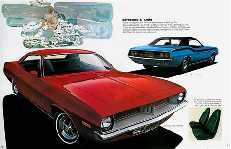 leaflet design plymouth 1974 plymouth barracuda specs performance design
