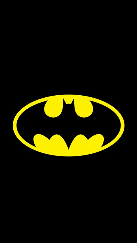 Batman Logo A0193 Iphone 7 batman original logo iphone5 wallpaper 640x1136 スマホ壁紙 iphone待受画像ギャラリー