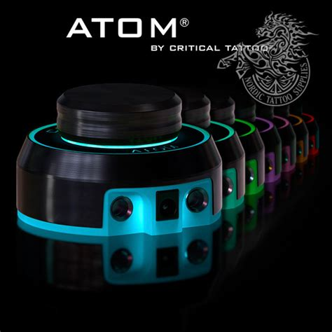critical power unit atom black nordic tattoo supplies