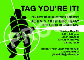 laser tag invitations templates paper perfection june 2014