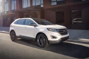 Ford Edgr 2018 Ford Edge Gains Sel Sport Appearance Package Motor