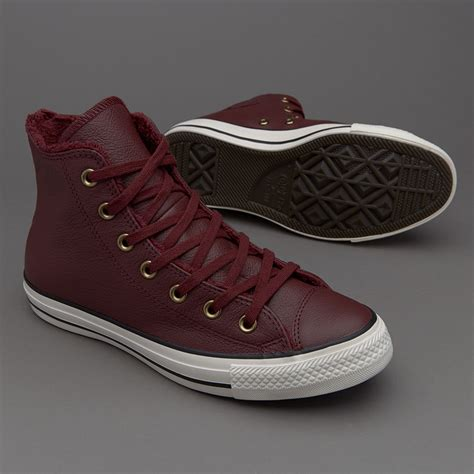 Sepatu Converse All Chuck High sepatu sneakers converse womens chuck all hi bordeaux