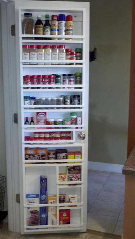 pantry door organizer 1000 ideas about door spice rack on pinterest spice