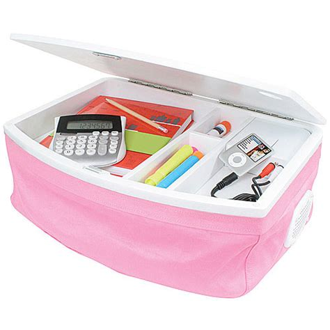 pink laptop desk organize it home office garage laundry bath