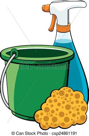 Cleaning Materials Clipart