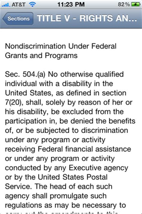 section 501 of the rehabilitation act of 1973 rehabilitation act of 1973 section 504 images frompo