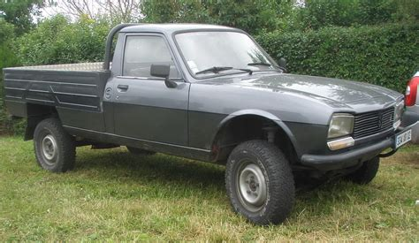 peugeot 504 pickup 4x4 and peugeot on pinterest