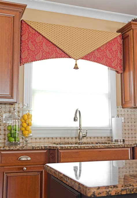 window valance ideas for kitchen custom cornice use for restaurant application window