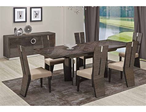 Contemporary Italian Dining Room Furniture Octavia Italian Modern Dining Room Furniture