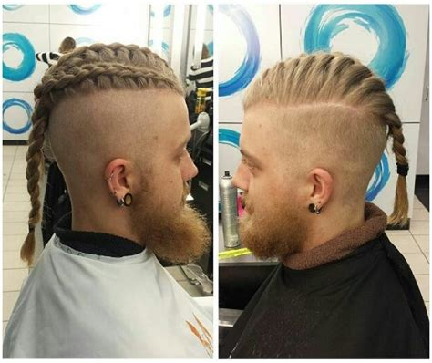 how to cut hair like ragnar viking hairstyles tutorial male hairstyles