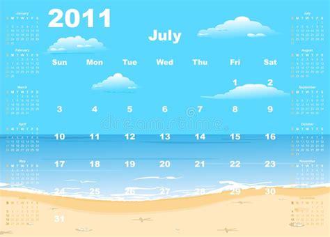 amerikansk kalender  lodlinje vektor illustrationer