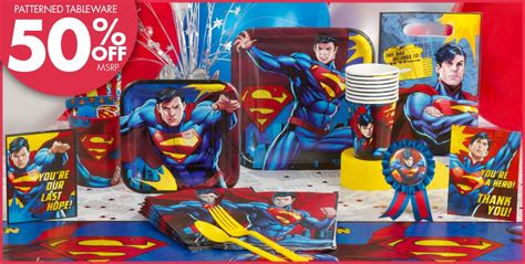 Superman Birthday Giveaways - superman party supplies boys party themes boys birthday birthday party supplies