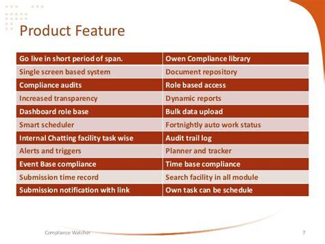 compliance watcher a compliance management tool