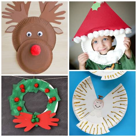 20 fun to make easy christmas paper crafts with your kids paper plate christmas crafts growing a jeweled rose