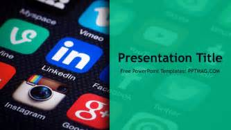 social media powerpoint template free free social media powerpoint template pptmag