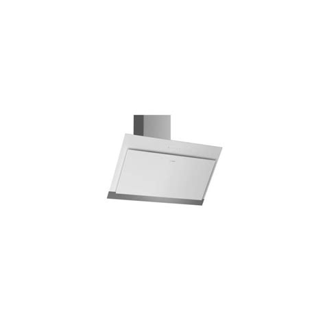 Hotte Plan Incliné by Hotte Decorative Bosch Plan Incline 680m3 H 66db Blanc