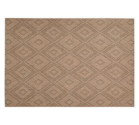 Durban Diamond Indoor Outdoor Rug Pottery Barn Pottery Barn Indoor Outdoor Rug