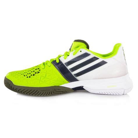 adidas adizero feather iii s tennis shoes white silver