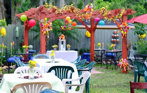 How To Decorate A Backyard Wedding by Ideas For A Budget Friendly Nostalgic Backyard Wedding