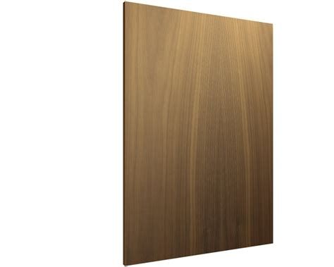 finished end panel slab base cabinets
