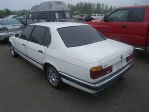 1990 Bmw 750il Wbagc8317ldc76598 Bidding Ended On 1990 White Bmw 750il